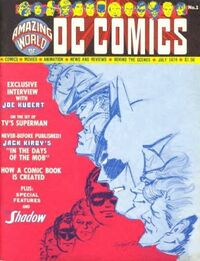 Amazing World of DC Comics Vol 1 1 001