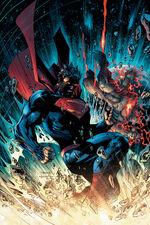 Superman confronts Wraith