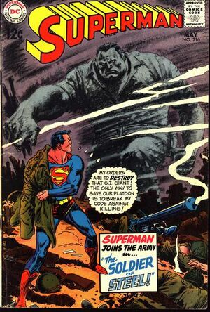 Cover for Superman #216 (1969)