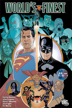 Cover for the World's Finest Trade Paperback