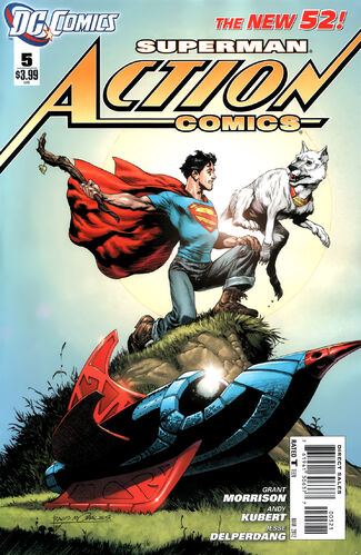 Variant by [[Rags Morales]] and [[Brad Anderson]]