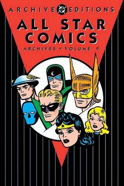 Cover for the All-Star Comics Archives Vol. 9 Trade Paperback
