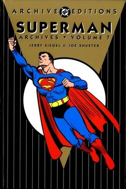 Cover for the The Superman Archives Vol. 7 Trade Paperback