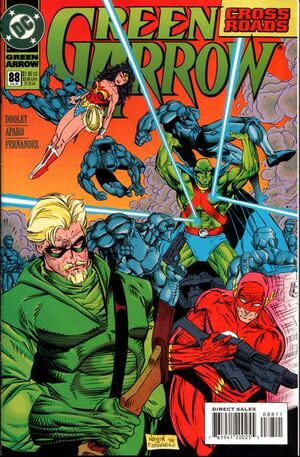 Cover for Green Arrow #88 (1994)