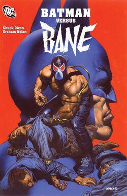 Cover for the Batman Versus Bane Trade Paperback