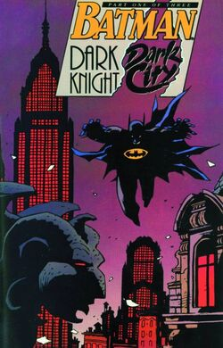 Cover for the DC Comics Presents: Batman: Dark Knight, Dark City Trade Paperback
