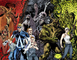 Swamp Thing and Animal Man 12 complete