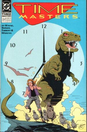 Cover for Time Masters #2 (1990)
