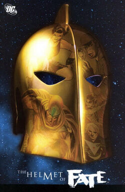Cover for the Helmet of Fate Trade Paperback