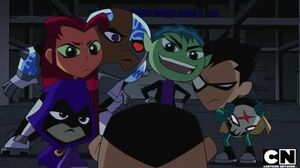 New Teen Titans (Shorts) Episode Red X Unmasked