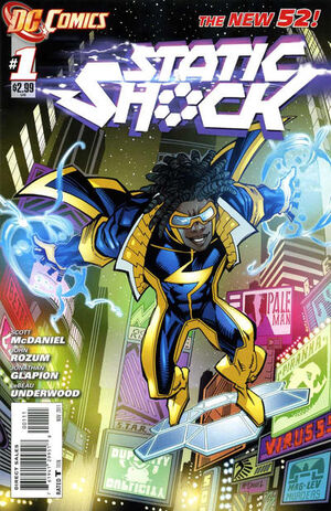 Cover for Static Shock #1 (2011)