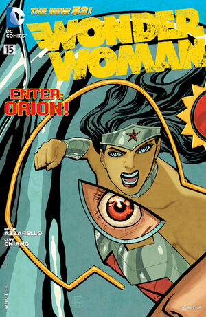 Cover for Wonder Woman #15 (2013)