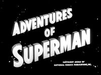Adventures of Superman Black and White
