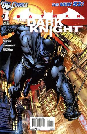 Cover for Batman: The Dark Knight #1 (2011)