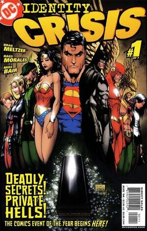Cover for Identity Crisis #1 (2004)