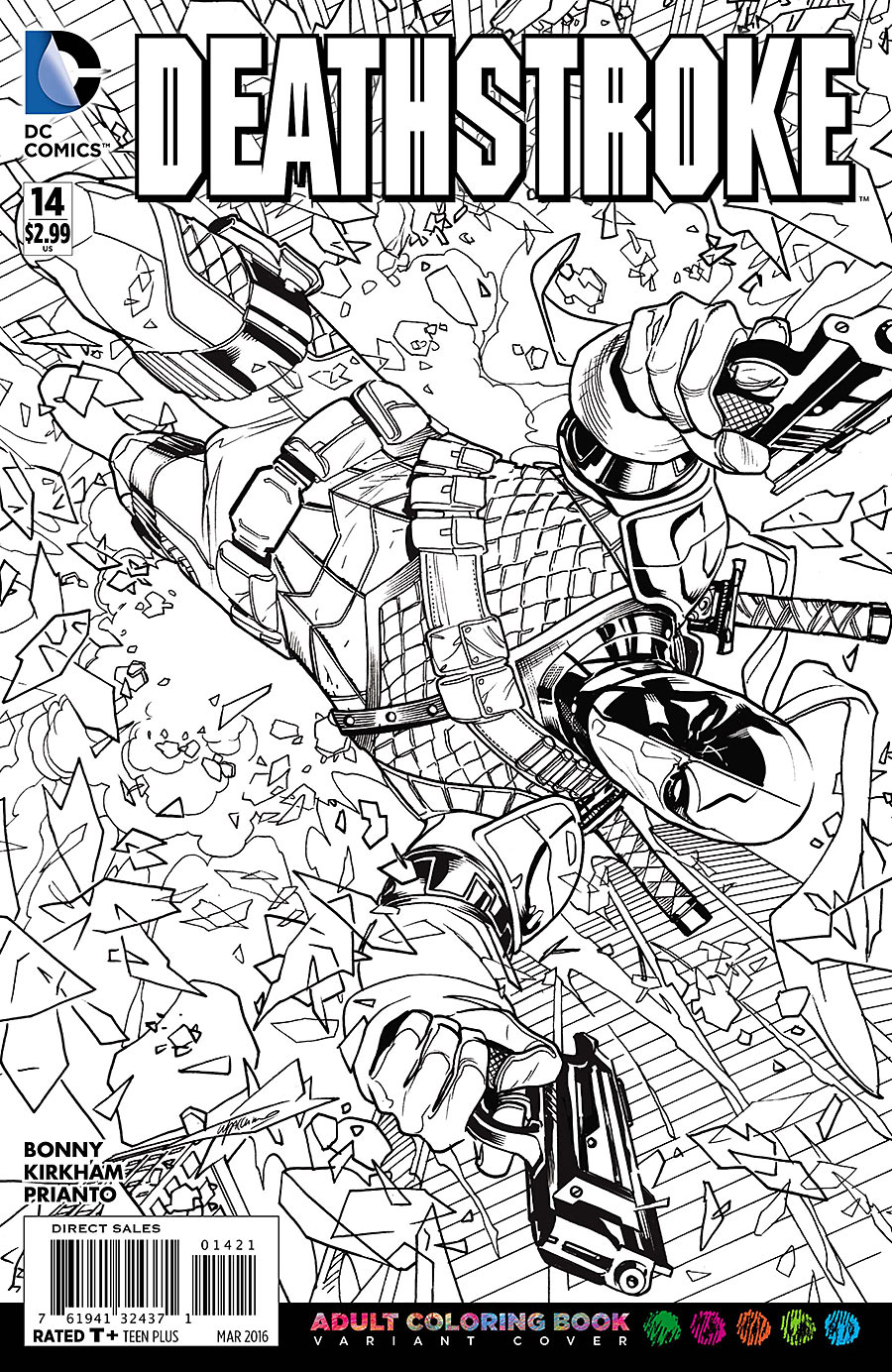 Justice League Coloring Pages #6