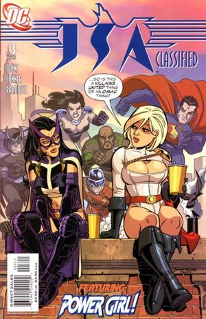 Cover for JSA Classified #3 (2005)