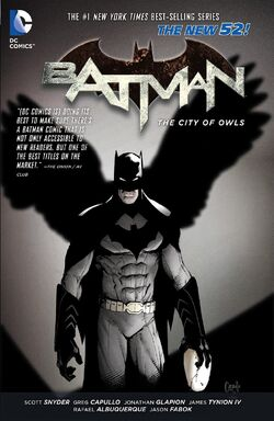 Cover for the Batman: The City of Owls Trade Paperback