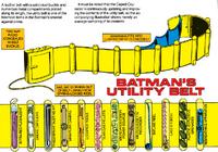 Batman Utility Belt Who's Who