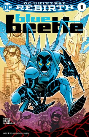 Cover for Blue Beetle #1 (2011)