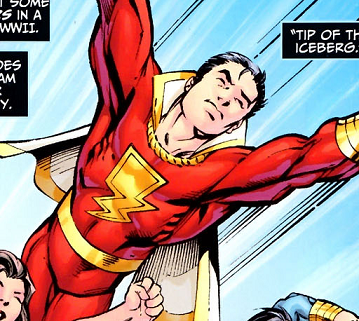 Billy Batson Captain Marvel Billy Batson And