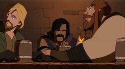 Volstagg Teases Fandral TTA