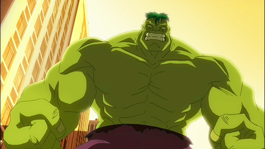 The leader captures him and has his intellect placed the incredible hulk 1 12, the incredible hulk s01e12