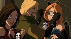 Fandral Gives Claws TTA
