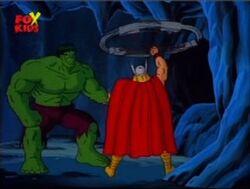 Hulk Thor Leave Cave