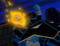 Ghost Rider Berates Galactus