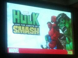 Hulk Agent SMASH Comic Con Photo