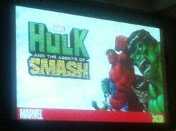 Hulk Agent SMASH Comic Con Photo