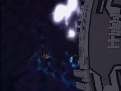 Galactus Ship Over Zenn-La
