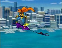 Hobgoblin Spider-Man River