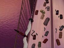 Angel Swoops To Brooklyn Bridge XME