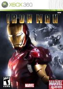 IronMan XBox 360 US cover