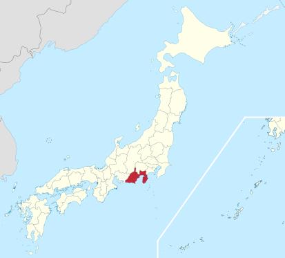File:Map of Shizuoka.png