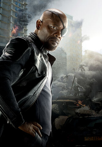 File:Nick Fury Textless AoU Poster.jpg