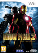 IronMan2 Wii Aust cover