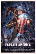 Captain America The First Avengers Mondo poster 2