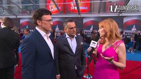 Directors Anthony and Joe Russo on Marvel's Captain America Civil War Red Carpet Premiere