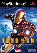 IronMan PS2 FR cover