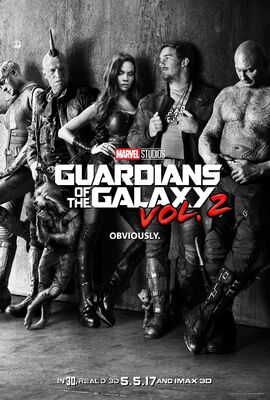 Guardians Vol 2 Teaser Poster