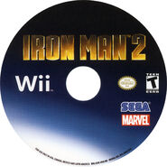 IronMan2 Wii US disc