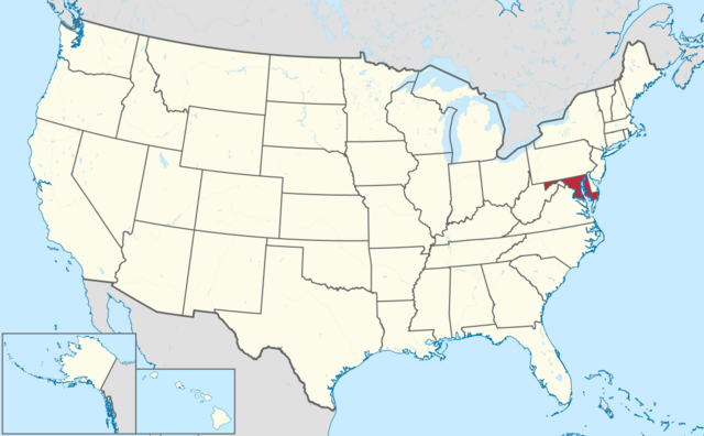 File:Map of Maryland.png