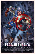 Captain America The First Avengers Mondo poster 3