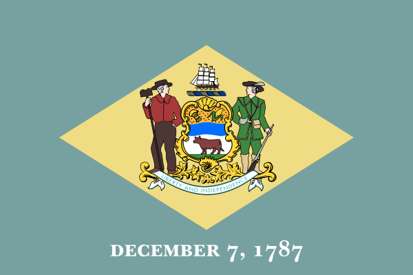 File:Flag of Delaware.png