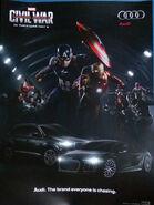 Captain America Civil War Audi promo