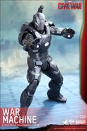 War Machine Civil War Hot Toys 6
