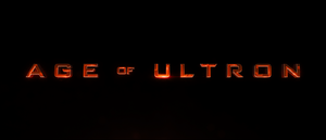 Avengers Age of Ultron Title Card (2015)
